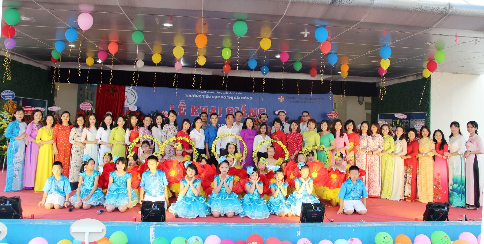 Trường TH Đô thị Sài Đồng 5 năm thành lập và phát triển