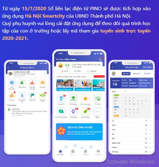Hướng dẫn sử dụng lấy mã đăng kí tuyển sinh trực tuyến trên Hanoi Smartcity